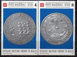 PIA - SMOM - 1989 :  Bolla Pumblea Magistrale Del XII Secolo  - (SAS  296-97) - Sovrano Militare Ordine Di Malta