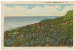 """Pitcairn Island """" Adams Town """"  P. Used Stamped From Pitcairn 1959 - Pitcairneilanden"""