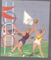 P630 - IMAGE ANONYME - BASKET BALL - FORMAT 12 X 14 CM - Unclassified