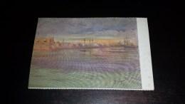 C-18801 CARTOLINA L. BRIGNOLI - TRIPOLI DAL LUNGOMARE CONTE VOLPI - DIPINTI PITTURE - Peintures & Tableaux