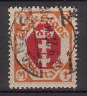 Danzig , 1921 , Mi.Nr. 83 O / Used - Danzig
