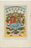 Escudo De Los Estados Unidos De Venezuela No 53 Edit Paul Kohl Chemnitz Litho - Venezuela