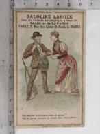 Chromo Dentifrices Laroze Paris - Saloline Laroze - Couple, Chasseur - Chromos