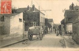 D 76 - SANVIC  - La Rue Sadi Carnot  - 374 - France