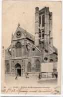 PARIS 3°--1903--Eglise St Nicolas Des Champs (animée) N° 204  éd  BF Paris---carte Précurseur - Arrondissement: 03