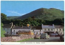 Leenane, Connemara, Galway, BUS, SHELL - Tankstelle, Gasolinera - Galway