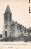 MONTGON EGLISE DU XVIe SIECLE RESTAUREE EN 1905 ARDENNES 08 - France