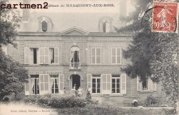 CHATEAU DE MARQUIGNY-AUX-BOIS ANIME ENVOI A LA BARONNE DE CHARNARCE 08 ARDENNES - Frankrijk