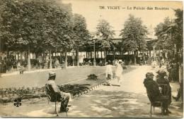CPA 03  VICHY QUEEN S HOTEL 1928 - Vichy