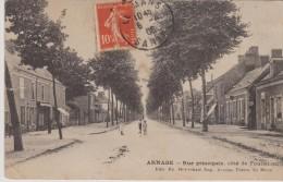 Arnage Rue Principale - France