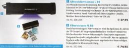 Filter Mit Phospor-Prüfer FL85 Neu 113€ Briefmarken Geld Münzen Paper Money LEUCHTTURM Filter+L85 Phosphoreszenz/UV-lamp - Bücher, Zeitschriften, Comics