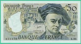 France -  50.Francs - Quentin De La Tour - N°. R.30 / 411170 - 1983 -  Neuf - 50 F 1976-1992 ''Quentin De La Tour''