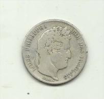 PIECE  5 FRANCS LOUIS PHILIPPE  1840  A - France