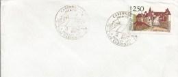 CAD Premier Jour Du Timbre CARENNAC (Lot) - 6 Juillet 1991 - Commemorative Postmarks