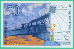 France -  50.Francs -  Saint Exupéry - N°.045358460 - 1997 - Neuf - 1992-2000 Last Series