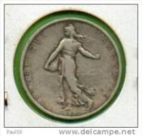 2 FRANCS  SEMEUSE ARGENT DE 1905 TB