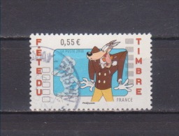 FRANCE / 2008 / Y&T N° 4148 - Tex Avery (Le Loup) De Feuille - Choisi - Cachet Rond - France