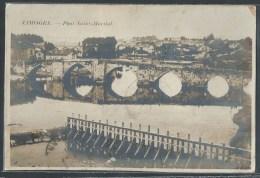 - CARTE PHOTO 87 - Limoges, Pont Saint-Martial - Limoges