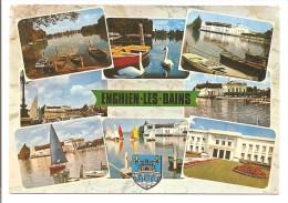 95 - ENGHIEN-les-BAINS - Val D´Oise - Multi-vues : Le Lac Et Le Casino, .... Blason - éd. ABEILLE-CARTES N° 9799 - 1977 - Enghien Les Bains