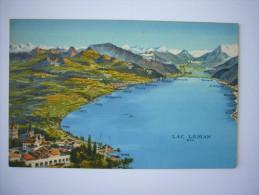 Suisse  : Lausane  : Le Lac Léman - Suisse