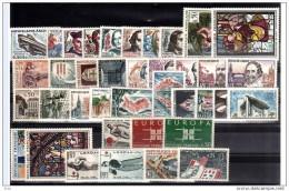 FRANCE - 1963 - Année Complète - Timbres N° 1368 à 1403 - Neufs ** - France