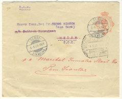Niederl�ndisch Indien Ganzsache 1925