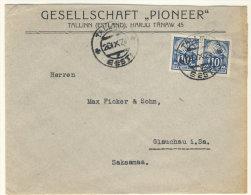Estland Michel No. 39 A auf Brief