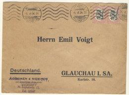 Finnland Michel No. 86 auf Brief
