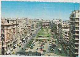 EGYPTE,EGYPT,ALEXANDRIE,A LEXANDRIEN,ALEXANDRIA,IL Y A 60 ANS ,VUE AERIENNE ANIMEE - Alexandria