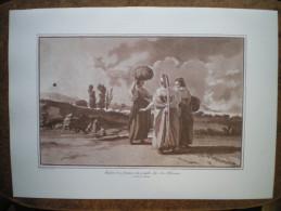 Stampa 70 Jean Houel Carta Amalfi Palazzo Adriano Palermo Sicilia Sicile Sicily Albania - Stiche & Gravuren