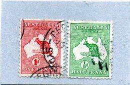 B - 1913 Australia - Kangoroo