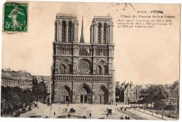 PARIS  4°--1912--Place Du Parvis Notre-Dame  N° 4048  éd ????-- - District 04