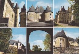 CPSM 19 @ ARNAC POMPADOUR @ 6 Vues Du Château Et Son Parc En 1962 - Arnac Pompadour