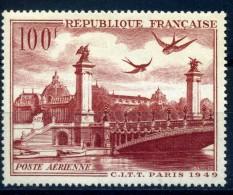 FRANCE- POSTE AERIENNE PA28 NEUF COTE 9 - 1927-1959 Ungebraucht