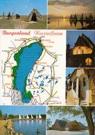 7013- POSTCARD, NEUSIEDLERSEE LAKE, SAILING, CHURCH, HORSEMANS - Autriche
