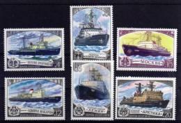 USSR - 1978 - Soviet Icebreakers (3rd Series) - MNH - 1923-1991 USSR