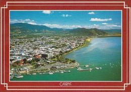7265- POSTCARD, CAIRNS- SEA TOWN, PANORAMA, HARBOUR, SHIPS - Cairns