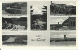 Urftsee Und Burg Vogelsang. - Multivue. - Schleiden