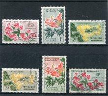 GABON  N°  153 A 158   (Y&T)  (Oblitéré) - Gabon (1960-...)