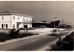 SALERNO --MONTESANO SCALO -- FOTOGRAFICA --  AREA DI SOSTA GRAN BAR -- FIAT 850 PULMINO -- - Salerno