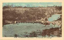 Morbihan - Ref RB A229- Ploermel - La Cascade Et Le Barrage - Theme Barrages   -carte Bon Etat  - - Ploërmel