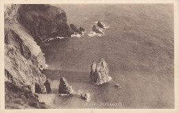 Faroe Islands PPC Vestan Beinisvørdi H. N. Jacobsens Bókhandil, Tórshavn 65586 (2 Scans) - Färöer
