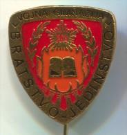 YUGOSLAVIA - JNA, Army Gymnasium, Pin, Badge, 23x25mm - Army