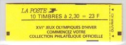 France Carnet N°2614C9 Conf 9-1 Type Marianne De Briat Lot 374 - Carnets