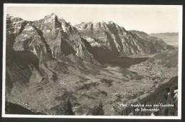 GARICHTE Ausblick Von Der Garichte Auf Schwanden Glarus 1946 - GL Glaris