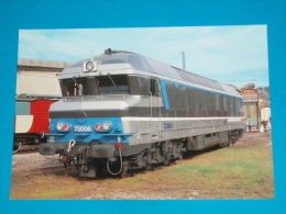 01 ) Rail Ussellois  N°188 - Dépot D'ambérieu - Autorails  Train N° CC.72006  - EDIT Biblio-rail - France