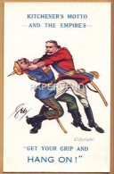 WW1 KAISER Throttled By Kitchener 1w133 - Guerre 1914-18