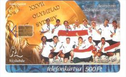 Hungary - Ungarn - Olympia Sydney 2000 - Vizilabda Valogatott - 30.000ex - Hungary
