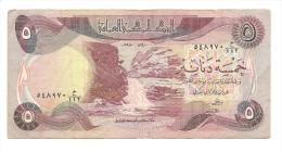 Iraq - Banconota Circolata Da 5 Dinari - Iraq