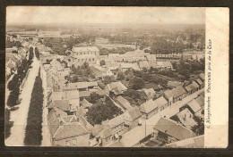 Hoogstraten Panorama Gebruikt Stempel 1908 Met Taxzegel - Hoogstraten